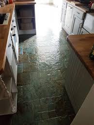 Slate Tiles For Kitchen Floor Slate Posts Stone Cleaning And Polishing Tips For Slate Floors