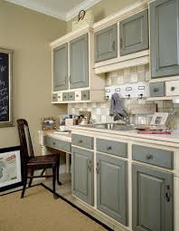 gallery of charming two tone kitchen cabinets