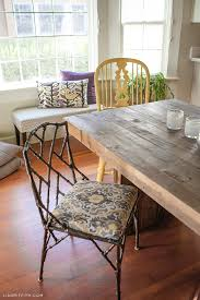 diningroomdetails windowseat paintingoveret buffetpainting chandeliervinemodern diychandelier dining room table the emmerson table from west