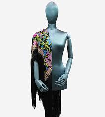 GRAND CARRÉ POISON IVY BLACK - Mantero   Shop Online
