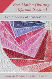 Free Motion Quilting Tips - Geta's Quilting Studio & Free Motion Quilting Tips Adamdwight.com