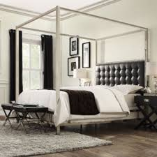 Kingstown Home Chattel Canopy Bed | from Wayfair | Room Decor