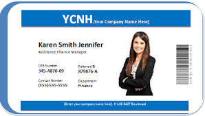 Photo Id Badge Word Templates Word Excel Templates