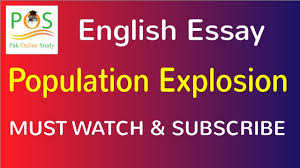 essay on population explosion in the world  essay on population explosion in the world