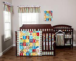 alphabet crib sheet amazon com trend lab dr seuss alphabet seuss 3 piece crib bedding