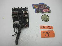 pathfinder fuse box relay bcm switch wire panel oem  1998 98 pathfinder fuse box relay bcm switch wire panel oem 96 97 99 00 ecu