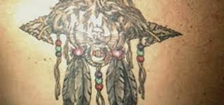 What Do The Beads In A Dream Catcher Mean Impressive Wolf Dreamcatcher Tattoo Dreamcatcher Tattoo