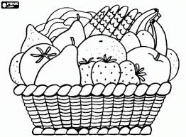 Small Picture Fruit Coloring Pages