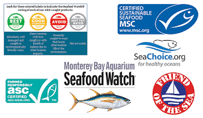 Sustainable Seafood Chart How To Identify Sustainable Seafood And Why Its Important