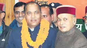 Bjp Signals Generation Shift In Himachal Pradesh Picks Jai Ram