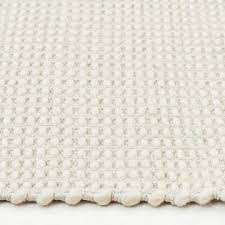 carlos felted wool rug natural white felted wool cotton white