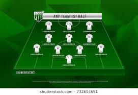 Soccer Lineups Football League Or World Tournament Broadcast Graphic