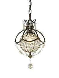 mini bronze crystal chandelier bronze crystal chandelier mini antique bronze crystal ball chandelier within chandeliers design