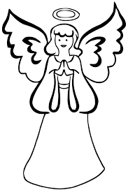 Angel Coloring Pages 240 Pics Photos