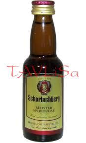 Brandy Meister Scharlachberg 34% 40ml miniatura