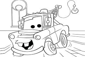 cars mater free coloring page o cars s coloring pages cars mater disney cars 2 coloring