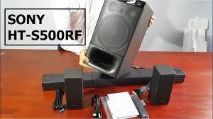 Dàn âm thanh Sound bar Sony HT-S500RF 5.1 cs 1000w