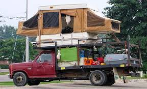 The Bi-Level Pickup Campers: Good Thing The Front Sleeper Is Tied ...