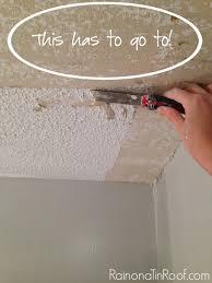 acoustic ceiling removal.  Ceiling How And Not To Remove Popcorn Ceilings  To Ceiling With Acoustic Removal V
