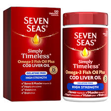 at seven seas we believe that it s the simple things in life that keep you feeling young at heart simply timeless cod liver oil high strength capsules is a
