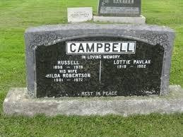 Lucy Hilda Malvina Campbell (Robertson) (1901 - 1972) - Genealogy