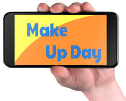 Image result for weather make-up day