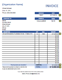 10 Quickbooks Invoice Templates Free Pdf Custom Templates