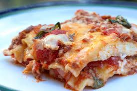 Classic Lasagne Classic Lasagna And Lemony Caesar Salad Sticky Kitchen