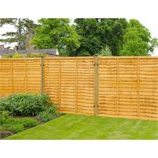 forest lap fence panel 6x6ft homebase