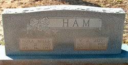 Nora Myrtle Mills Ham (1905-1997) - Find A Grave Memorial