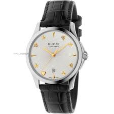 gucci 126 4. unisex gucci g-timeless automatic watch ya126468 126 4