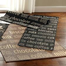 5 gallery stylish black kitchen runner rugs mat rubber mats waterproof solid with regard to