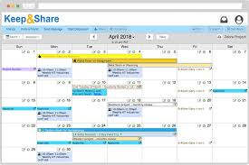 Easy To Use Free Online Calendar Keepandshare