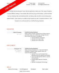 cna resume skills sample cna resume ckum ca
