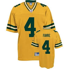 Reebok Throwback Jersey Size Chart Hot 4 Authentic Brett Favre Yellow Reebok Nfl Mens Jersey
