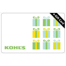 E-Gift Card - Kohl's