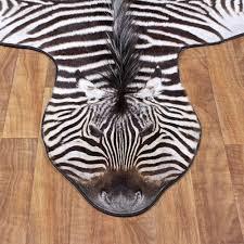 extraordinary design ideas real zebra rug charming zebra rugs real hide impala wildebeest