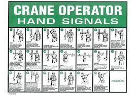 Hand Signal Charts 10 X 14