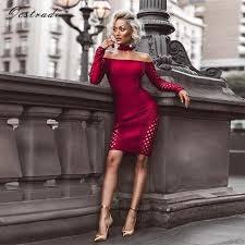 <b>Ocstrade</b> Womens Autumn Long Sleeve <b>Bodycon Dress</b> 2017 ...