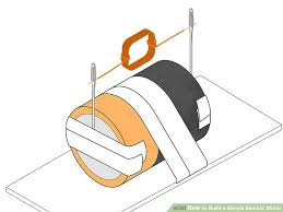 simple electric motor diagram. Perfect Motor Image Titled Build A Simple Electric Motor Step 7 For Diagram O