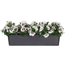 Artificial Window Pure Pansy Artificial Window Box Blooming Artificial