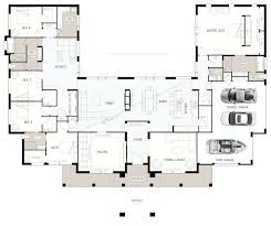 u shaped 5 bedroom family home more house plans with pool in middle australia u shaped house plans