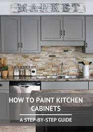 what type of paint for kitchen cabinetsBest 25 Painted gray cabinets ideas on Pinterest  Grey cabinets