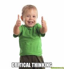 critical thinking - | Make a Meme via Relatably.com