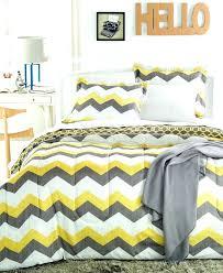 yellow and grey chevron bedding yellow and grey bedding bedding design bedding design grey chevron stunning