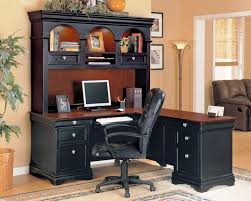 Image Of Wood Corner Desk  T