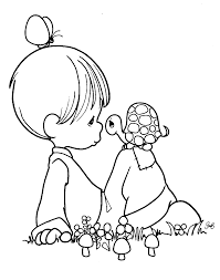 best precious moments printable coloring pages free colors in