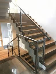 Stainless Steel Railing Designs Images Indital Stainless Steel Square Newel Post With Glass Clamps