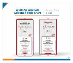 Winding Wire Size Selection Slide Chart Bluemark