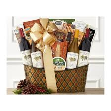 grgich hills napa valley wine basket